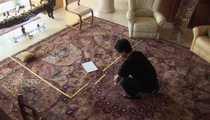 """Jafar Panahi, Still shot from """"This is Not a Film"""" 2011"""