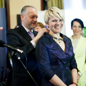 Polish woman of the year Agnieszka Kolek